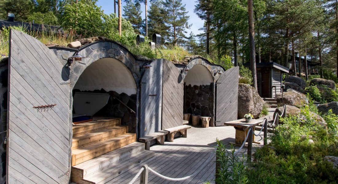 Cave sauna spa