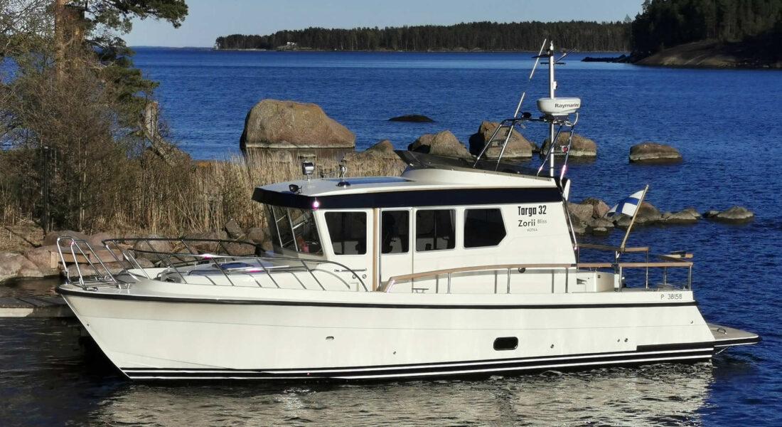 Kotka Charter - Targa 32